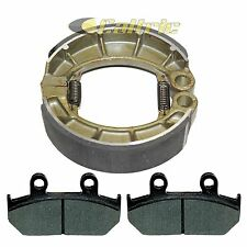 Honda GL500 Silverwing 500 81-82 Rear Grooved Brake Shoes by Niche Cycle Supply
