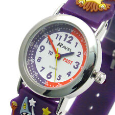 Ravel Kids Time Teacher Watch Wizard Magic School Silicone Band 1513.77