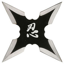 Framed Print - Ninja Shuriken Death Star (Picture Poster Art Samurai Warrior)
