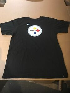 XL Pittsburgh Steelers NFL Team Logo Graphic Short Sleeve T-Shirt Men's Large