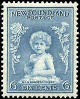 1932-37 Canada Mint H Newfoundland 6c F-VF Scott #192 Definitive Stamp