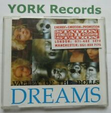 VALLEY OF THE DOLLS - Dreams - Excellent Condition CD Single Dolltown DOLL 1