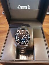 Mathey Tissot Rolly Quartz Watch with Stainless Steel Bracelet - Black