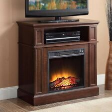 Electric Fireplace Heater Tv Stand Media Center Living Room Bedroom Decor 31""