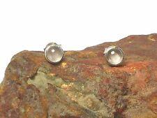 ROSE  QUARTZ   Sterling  Silver  925  Gemstone  Earrings / STUDS  -  5 mm
