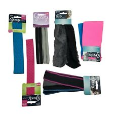 Goody Ouchless Adult Women Headband Headwrap Ponytail Bundle Colorful - 11 pc