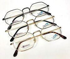 Vintage Octagonal Glasses Frames MADE IN ENGLAND Invicta All Colours