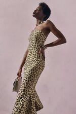 Cinq a Sept  Luna  Leopard-Print Strapless Mermaid Dress 346c7ecb5
