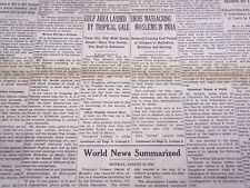 1947 AUGUST 25 NEW YORK TIMES - SIKHS MASSACRING MUSLIMS IN INDIA - NT 3487