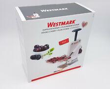 Westmark STEINOMAT Kirschen & Pflaumen Doppel Entsteiner Entkerner  #4060 2260