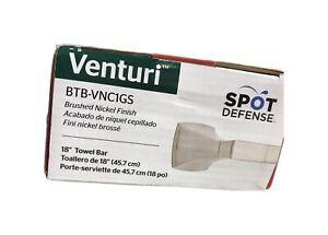 Pfister Venturi 18 in. Towel Bar in Spot Defense Brushed Nickel BTB-VNC1GS