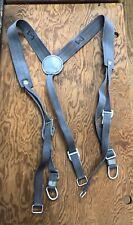 East German Pack Straps Belt Suspenders War Belt