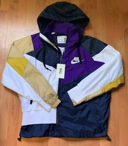 Rare Unreleased Sample Mens Nike x Sacai Double Zip Windbreaker Jacket Size M