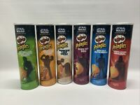 Star Wars Pringles Rare Limited Collector Cans Complete Set of 6 Boba Fett Vader