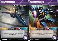 Transformers TCG: Thundercracker // Mach Warrior [Mint/NM] from set Season 1 Aut