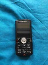 Sony Ericsson Walkman W810i - Satin black (Unlocked) Cellular for parts
