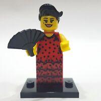 "LEGO Collectible Minifigure #8827 Series 6 ""FLAMENCO DANCER"" (Complete)"