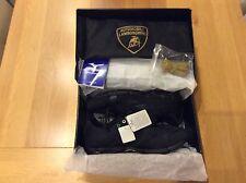 Zapatos de entrenamiento Lamborghini Sneekers En Caja Nuevo Negro size UK 10.5