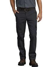 Dickies Men's Flex Work Pants Slim Straight Fit, Black, 30W x 30L NEW in Package