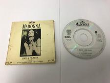 "MADONNA Like A Prayer --- RARE 3"" MINI CD 3 Track -- SIRE W7539CD, 1989"