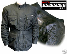 GTH ELITE ENDURANCE CORDURA MOTORCYCLE JACKET, BLACK [72033]