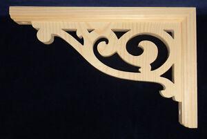 "L&G's Victorian Gingerbread Fretwork Arch Trim Bracket 10"""