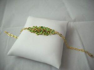 Swarovski Vintage & New Crystals & 14K Gold Filled OOAK Bracelet NWOT