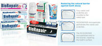 NON FLOURIDE Biorepair® the toothpaste mineralize repairs tooth enamel cracks