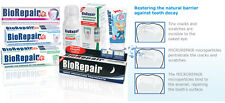 Biorepair® the toothpaste mineralize repairs tooth enamel cracks Fluoride Free