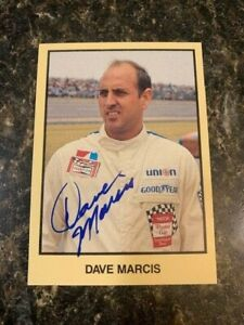 Masters of Racing Dave Marcis Signed Trading Card - Combined Shipping Eligible