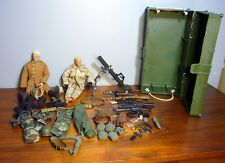 "1997 50+ pc G. I JOE Locker 2 Action Figures 11"" men accessories outfits helmets"