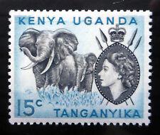 KENYA/UGANDA/TANGANYIKA 1958 Elephant 15c No Dot SG169 Cat £2.50 U/M NF395