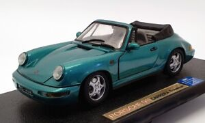 Anson 1/18 Scale 30320-W - Porsche 911 Turbo - Metallic Green