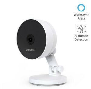 Foscam C2M 2MP Dual-Band WLAN IP Überwachungskamera Nachtsicht Menscherkennung