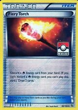 POKEMON FIERY TORCH LEAGUE PROMO XY FLASHFIRE 89/106 ULTRA RARE ETCHED HOLO NM