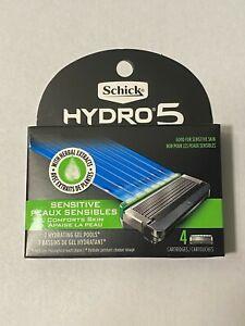 Schick Hydro5 Sense Cartridge Refiil 4 Count, Choose Kind