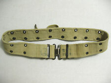 Israeli Army IDF webbing COMBAT BELT khaki 1965