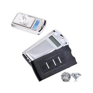 Mini Pocket Digital Auto Style Key Scale Ultradünne Q6F1 G8I6 0,01g / T6K6