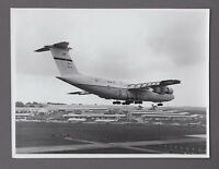 LOCKHEED C-5 GALAXY LARGE VINTAGE ORIGINAL MOD PHOTO US AIR FORCE USAF 4