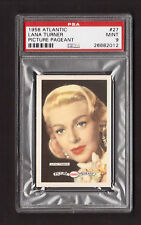 Lana Turner 1958 Atlantic Picture Pageant Film Star Card #27 PSA 9 MINT
