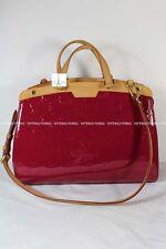 Authentic Louis Vuitton Brea MM Indian Rose Monogram Vernis Leather Shoulder Bag