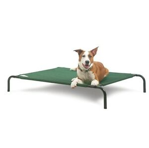 Elevated Bed for Dogs & Pets - Large in warm in winter cool summer