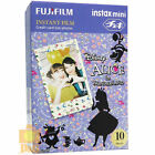 FUJIFILM FUJI INSTAX Instant FILM 1 PACK / ALICE IN WONDERLAND 4 MINI 8 SP-1 25