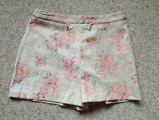 ATMOSPHERE LADIES FLORAL SHORTS  SIZE 8  EX COND