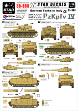 Star Decals 35-868, Decal - German Tanks in Italy #3, 1:35
