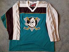 Anaheim Ducks jersey mighty  PRO PLAYER xl RARE extra large men