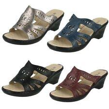 Wedge Slip On Synthetic Sandals & Flip Flops for Women