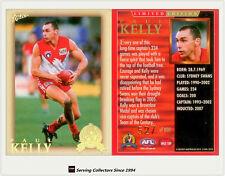 HOF-2012 AFL Eternity Hall Of Fame Limited Edition HF189 Paul Kelly (Sydney)