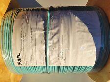500' Foot, 2 Fiber Optic Cable, 50/125 Plenum Multimode Bulk OFNP OM3 Aqua 10G
