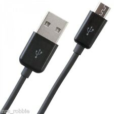 USB to Micro USB Charging Cable Cord Black Mobile Phone Tablet Samsung Caravan